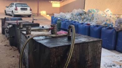 Photo of مداهمة مصنع للخمور المحلية في صرمان