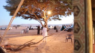 "Photo of رحلات وتخييم.. عادات ""زنتانية"" خاصة بالعيد"