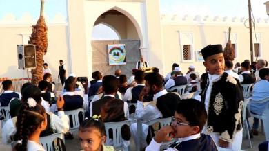 حفل معايدة لأهل الواحات بالقصر الأثري في مدينة جالو