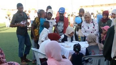 """صورة """"العيدية"""".. عادة تُعيد لأطفال ليبيا بعض الفرح"""