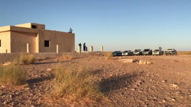 Photo of جولة أمن باطن الجبل التفقدية لحدود ليبيا مع تونس