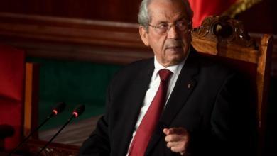 الرئيس التونسي المؤقت محمد الناصر
