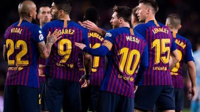 Photo of برشلونة يفوز وديا على نابولي