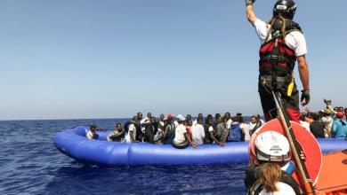Photo of إنقاذ 400 مهاجر قبالة السواحل الليبية