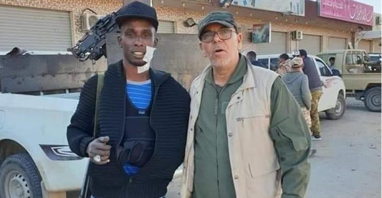 """صلاح بادي وعبدالرحمن محمد عبدو """"الزيقرا""""- صورة إرشيفية"""