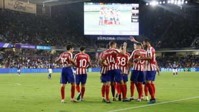 Photo of أتلتيكو مدريد يواصل عروضه الاستثنائية
