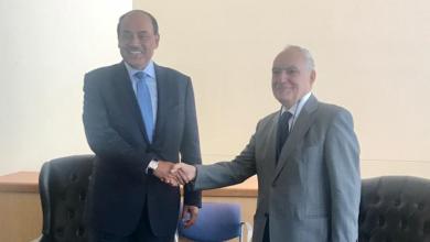 Photo of سلامة يبحث الملف الليبي مع وزير الخارجية الكويتي