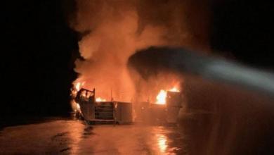 Photo of عشرات القتلى في احتراق سفينة غوص قبالة ساحل كاليفورنيا