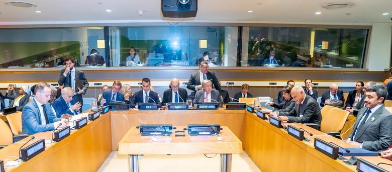 الاجتماع الوزاري بنيويورك حول ليبيا