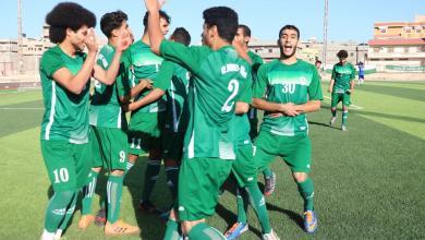 """Photo of """"أفريقي درنة"""" يتأهل لنهائي دوري الأواسط"""