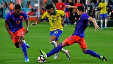 Photo of البرازيل تتعادل مع كولومبيا