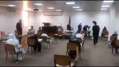 Photo of طلبة معاهد التمريض يبدأون امتحاناتهم النهائية