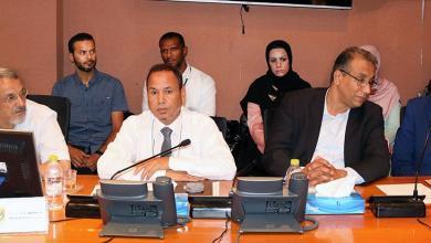 "Photo of ""ايني ومليتة"" تبحث تسريع مشاريعهما في ليبيا"