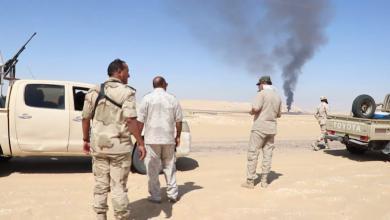 Photo of دوريات لقوات الجيش الوطني في حقول نفط الواحات