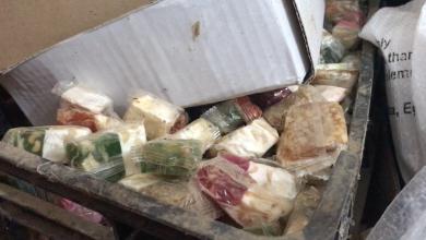 "Photo of مداهمة ""أوكارا"" لتخزين الأغذية الفاسدة بصبراتة"