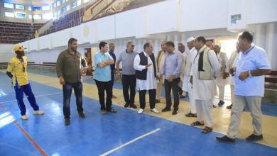 Photo of القنطري يزور قاعة الألعاب الرياضية في زوارة
