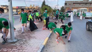Photo of بني وليد..حملة تطوعية لشباب القادسية -((صور))