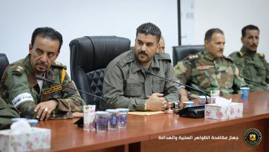 Photo of اجتماع أمني لإرساء الأمان في بنغازي