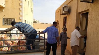 Photo of مساندة مدينة براك لنازحي مرزق