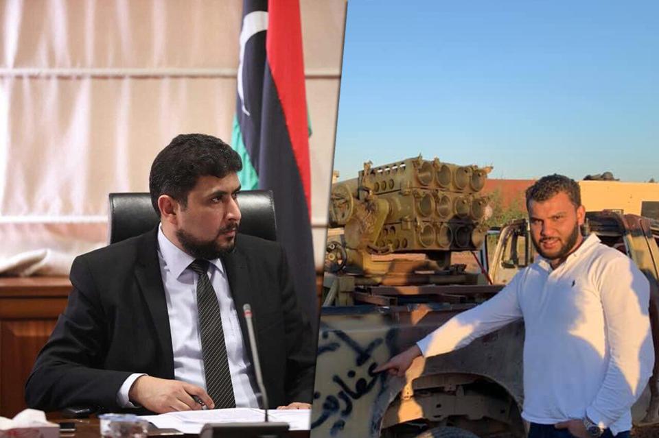 محمد أبو دراع- وزير المالية المفوض بحكومة الوفاق فرج بومطاري