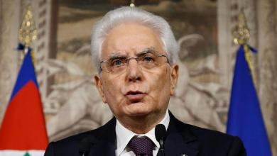 الرئيس الإيطالي سيرجو ماتاريلا
