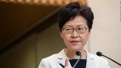 Photo of رئيسة هونغ كونغ تنزع فتيل أزمة البلاد