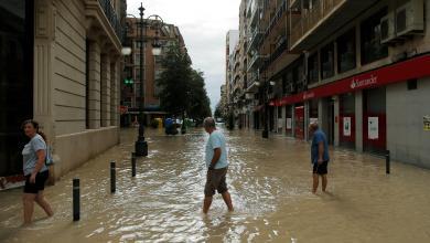 فيضانات إسبانيا