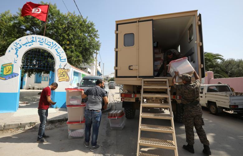 التجهيز للانتخابات الرئاسية التونسية