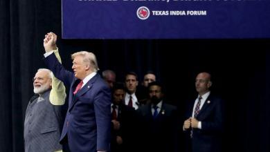 Photo of ترامب ومودي يتفقان على محاربة الإرهاب الدولي
