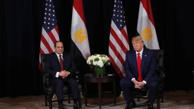 صورة ترامب: الرئيس المصري عبدالفتاح السيسي قائد عظيم ومحترم