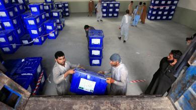 صورة توترات مع واشنطن عشية الانتخابات الرئاسية الأفغانية