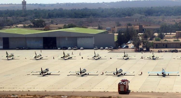 الكلية الجوية مصراتة - صورة أرشيفية