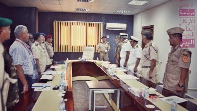 """صورة """"رئيس أركان الوفاق"""" يجتمع بأمري الكليات العسكرية بطرابلس"""