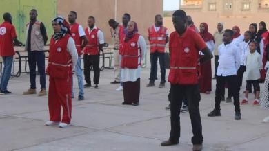 Photo of غرفة الطوارئ بالهلال الأحمر غات ترفع حالة التأهب والاستعدادات