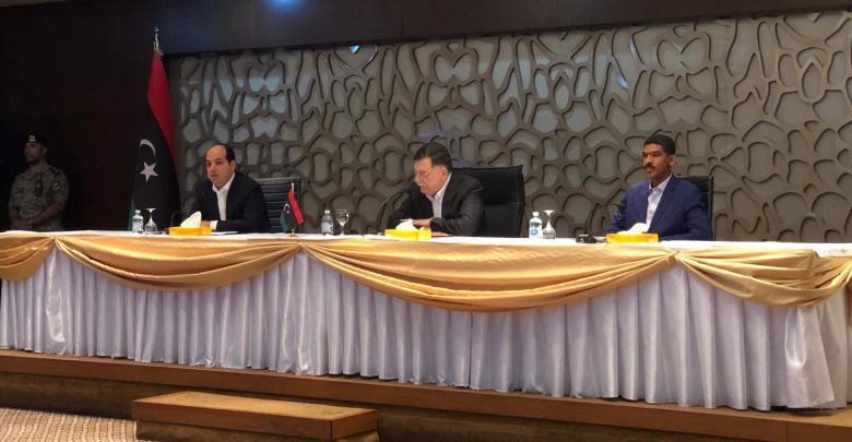 لقاء المجلس الرئاسي بالفعاليات الشبابية في طرابلس