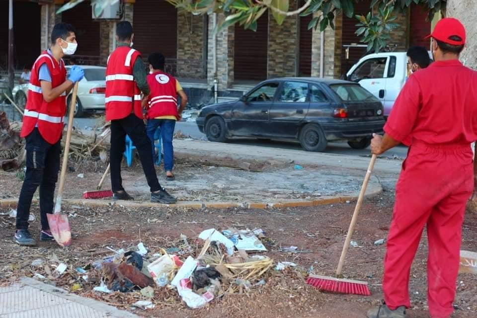 جمعية الهلال الأحمر في مدينة درنة