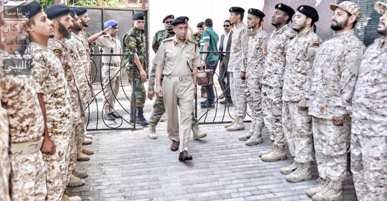 رئيس أركان الوفاق يبحث ملف حماية الحدود من عصابات التهريب والإرهاب