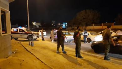 دوريات أمنية مشتركة بين الشرطة العسكرية وقسم النجدة في طبرق