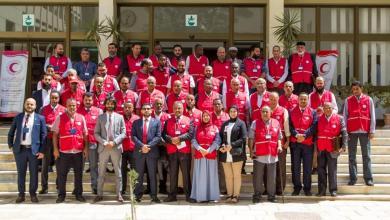 صورة الهلال الأحمر الليبي ينشر إحصائيات أنشطة التأهب والاستجابة لفيروس كورونا