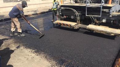 أمن طرابلس تعلن إتمام عمليات الصيانة بميدان الشهداء في طرابلس