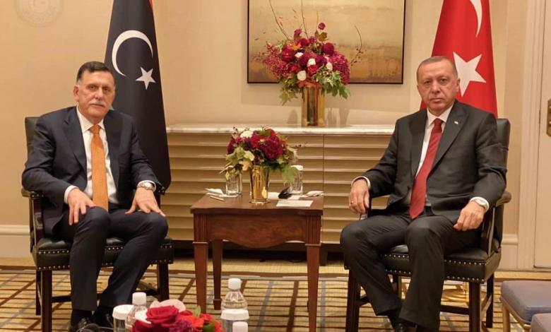 أردوغان - السراج