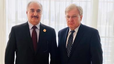 السفير الأمريكي يلتقي المشير لمناقشة الأوضاع الراهنة في ليبيا