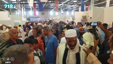 Photo of إقبال مميز على معرض ليبيا الزراعي في تمنهنت