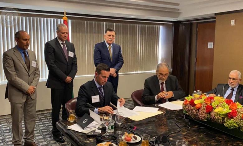 """توقيع اتفاقية في نيويورك بين """"الوفاق"""" و """"جينيرال اليكتريك"""" حول الكهرباء في ليبيا"""
