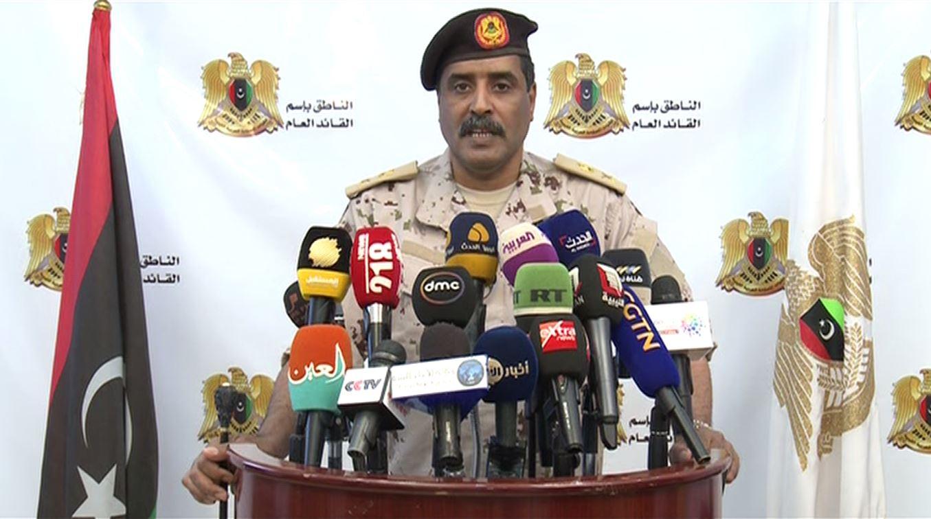 اللواء أحمد المسماري - الناطق الرسمي باسم القيادة العامة للجيش الوطني