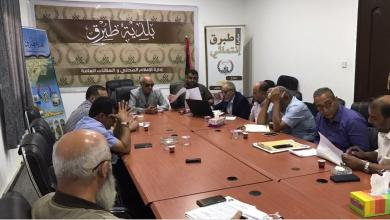 اجتماع في طبرق لمناقشة أزمة المياه والصرف الصحي