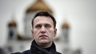 صورة نافالني يتهم بوتين بالوقوف وراء محاولة تسميمه