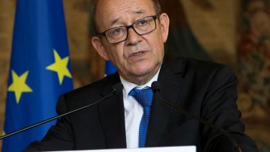 وزير الخاريجة الفرنسي جان إيف لودريان- صورة إرشيفية