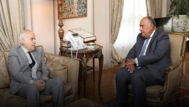 Photo of سلامة وشكري يبحثان إحياء العملية السياسية في ليبيا