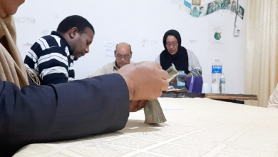 Photo of مواطنون ينوبون عن الدولة في إغاثة نازحي مرزق
